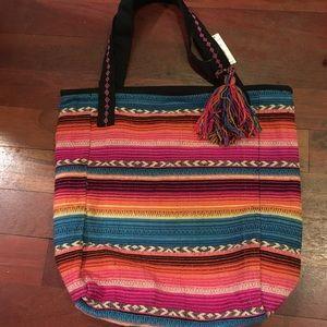 Handbags - Bohemian boho beach tote bag